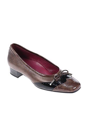 alexandria chaussures femme de couleur marron
