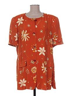Veste casual orange GIORGIO PARRI pour femme