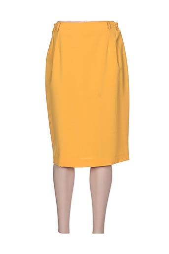 breal jupes femme de couleur jaune