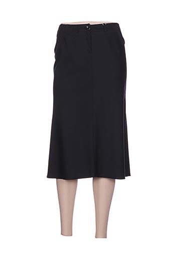 Jupe mi-longue noir CLAUDIA GIL pour femme