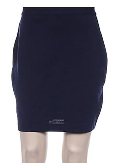 Jupe courte bleu ABAYA pour femme