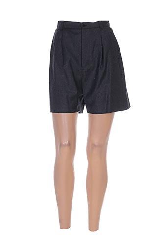 philippe adec shorts / bermudas femme de couleur gris