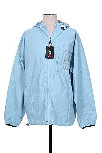 bullrot manteaux homme de couleur bleu