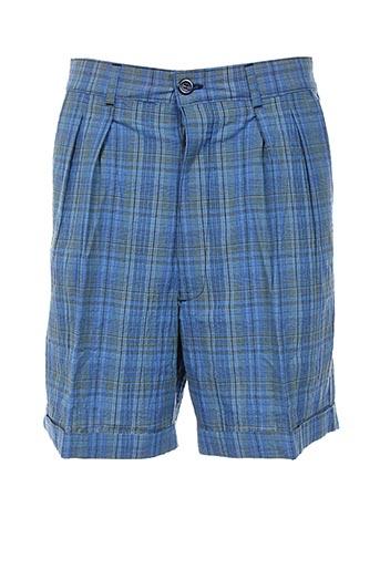 une fois la mode shorts / bermudas homme de couleur bleu