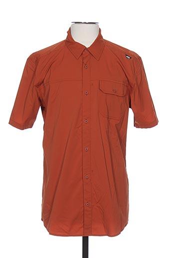 millet chemises homme de couleur marron