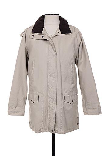 lee valley manteaux femme de couleur beige