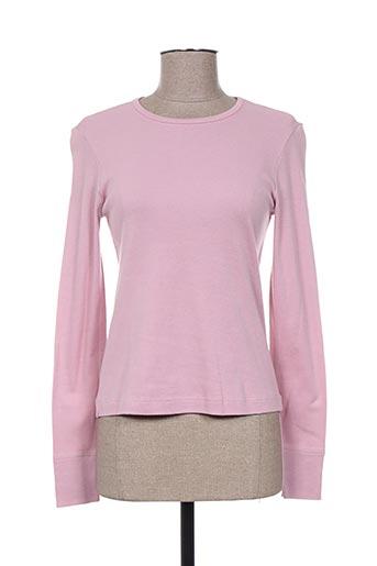20/20 t-shirts femme de couleur rose
