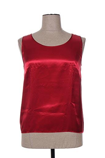 regence chemises femme de couleur rouge