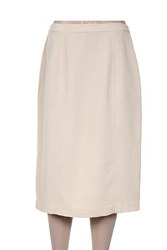 brigitte saget jupes femme de couleur beige