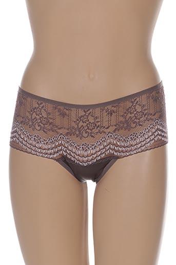triumph lingerie femme de couleur marron