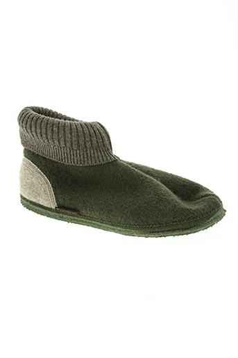 giesswein chaussures homme de couleur vert