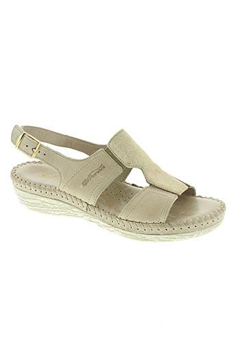 florance chaussures femme de couleur beige