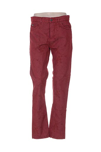 Pantalon casual rouge GAFAIR pour femme