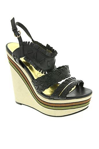 mosquitos chaussures femme de couleur noir