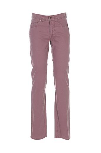 brühl pantalons homme de couleur violet