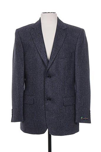 lanificio vestes homme de couleur bleu
