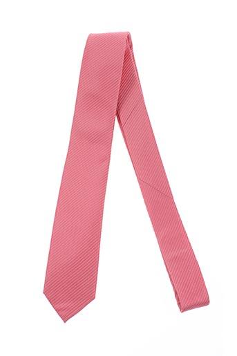 mac-ty accessoires homme de couleur rose