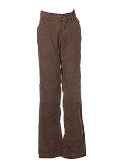 Pantalon casual vert CONBIPEL pour femme