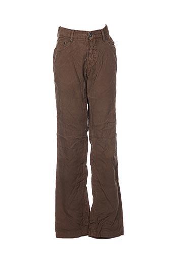 conbipel pantalons femme de couleur vert