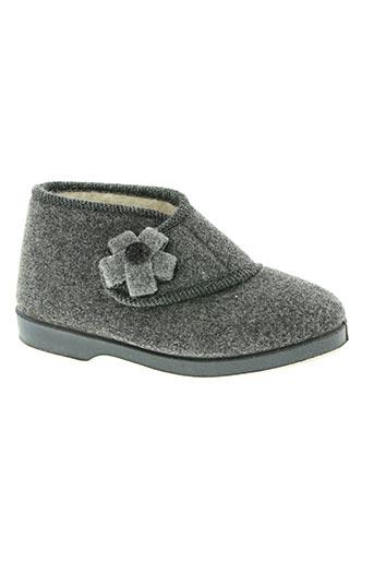 la maison de l'espadrille chaussures femme de couleur gris