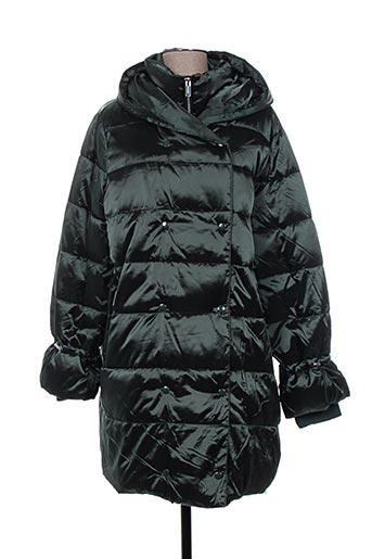 rino EFFI_CHAR_1 pelle manteaux femme de couleur vert