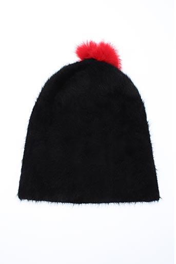 Bonnet noir EBENE pour femme
