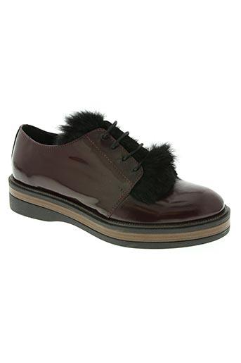 peperosa chaussures femme de couleur rouge