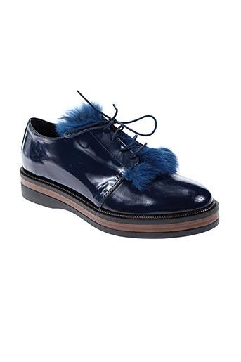 peperosa chaussures femme de couleur bleu