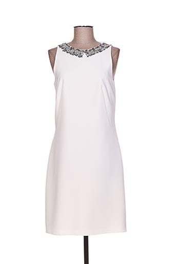 Robe courte blanc LINEA RAFFAELLI pour femme
