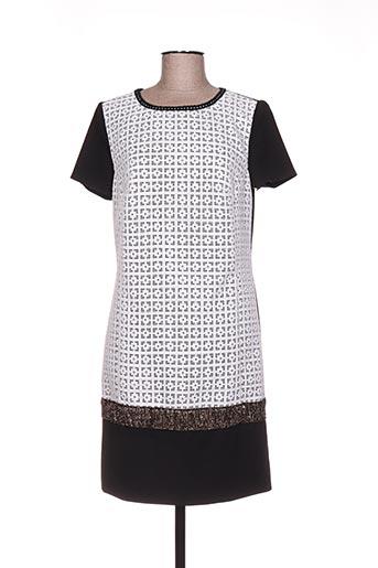 Robe courte noir LINEA RAFFAELLI pour femme