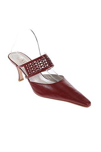 diva chaussures femme de couleur marron