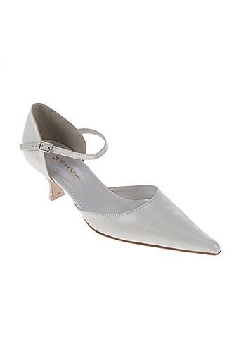 union chaussures femme de couleur beige