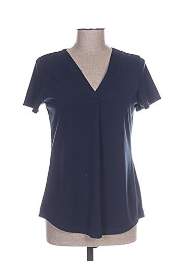 renatto bene chemises femme de couleur bleu