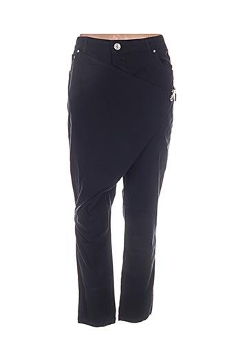 Pantalon casual noir BISOU D'EVE pour femme