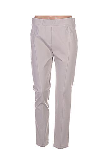 femmes je vous aime pantalons femme de couleur beige