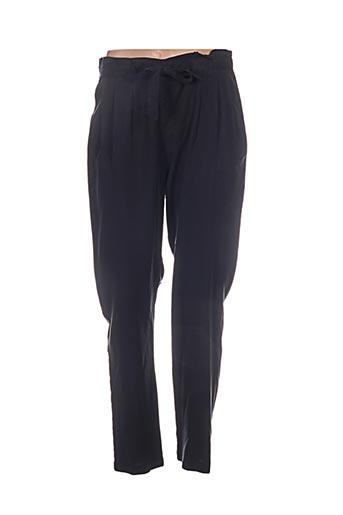 laura jo pantalons femme de couleur bleu