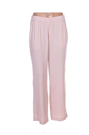 femmes je vous aime pantalons femme de couleur rose