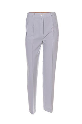 Pantalon chic gris ELISSA pour femme