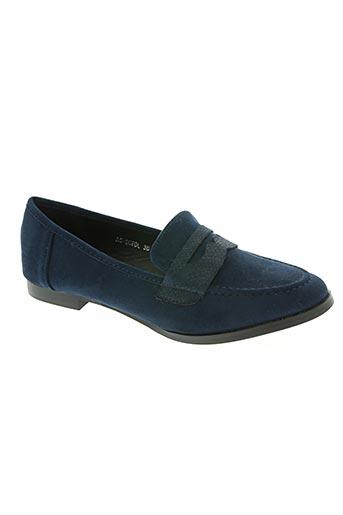 bellucci chaussures femme de couleur bleu