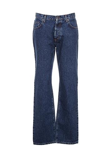 ober jeans homme de couleur bleu