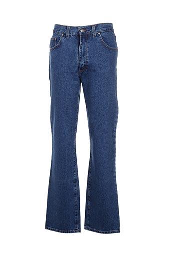 whooper jeans homme de couleur bleu
