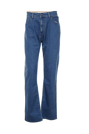 redman jeans homme de couleur bleu