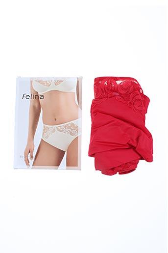 felina lingerie femme de couleur rouge