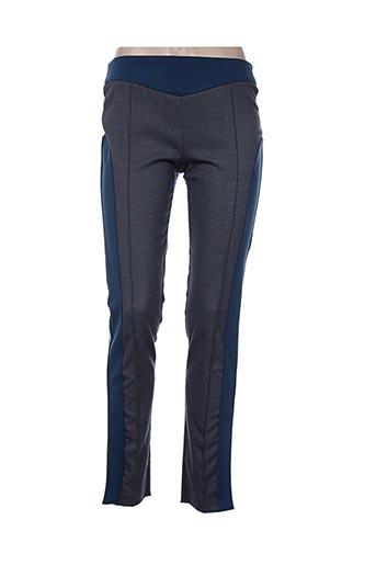 karting pantalons femme de couleur bleu