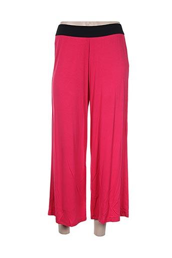 maloka pantacourts femme de couleur rose