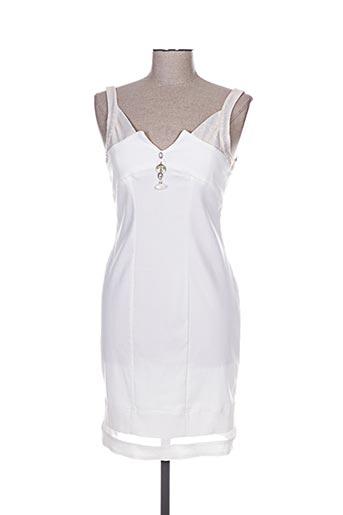 elisa cavaletti robes femme de couleur beige
