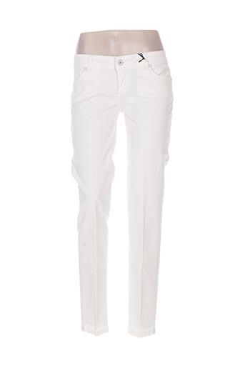 coconuda pantalons femme de couleur beige