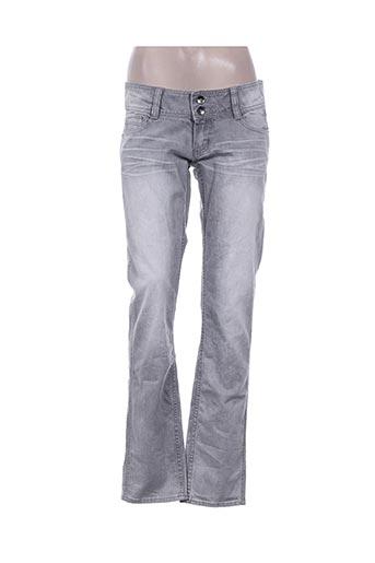 ddp jeans femme de couleur gris
