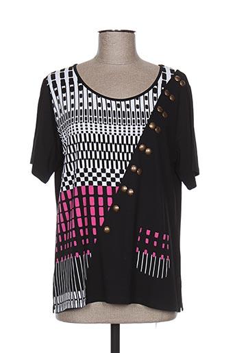 gd t-shirts femme de couleur noir
