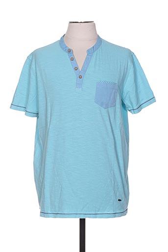delahaye t-shirts homme de couleur bleu